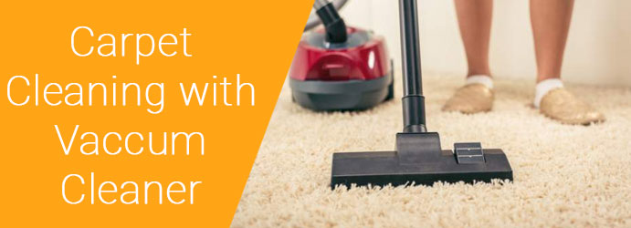 Carpet Cleaning With Vaccum Cleaner