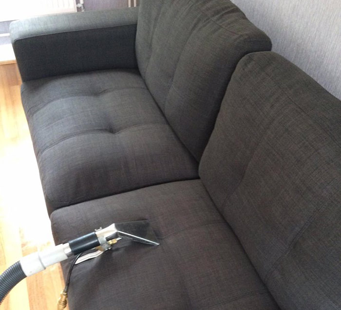 Fabric Couch Steam Cleaning Downer