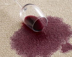Red Wine Stain Removal From Carpet