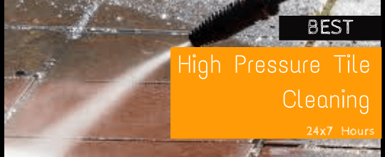 High Pressure Tile Cleaning Canberra